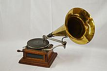 1899 Zon-O-Phone Glass Sides Model A Disc Player