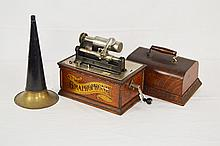 American Graphophone Model AT Cylinder Player