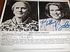 JESSICA TANDY AND KATHY BATES AUTOGRAPHED PHOTO