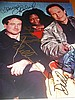 ROBIN WILLIAMS WHOOPI GOLDBERG BILLY CRYSTAL SIGNED PHOTO