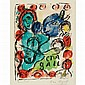 Marc Chagall PANTOMIME Color lithograph