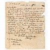 [METHODISM - WESLEY, JOHN] Letter to American evangelical preacher Freeborn Garrettson. London: 2 January 1786. 1 page lette...