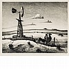 Thomas Hart Benton WEST TEXAS Lithograph