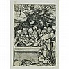Lucas Cranach the Elder THE ENTOMBMENT Woodcut
