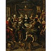 Flemish School 17th Century The Wedding at Cana