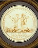 Charles Norbert Roettiers French, 1720­1772 Neptune and a French Warrior Approaching Shore on a Shell Vessel: Design for a Medal