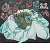 Sacha Moldovan Russian/American, 1901-1982 Still Life of Poppies in a Vase   Signed Sacha Moldovan (lr) Oi...
