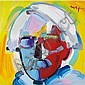 Peter Max American, b. 1937 Andy with Mustache Version III #1, Peter Max, Click for value