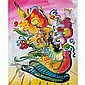 Peter Max American, b. 1937 Vase of Flowers Series 99 Version III #2, Peter Max, Click for value