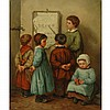 C. S. Choate American, 19th Century Children Learning their Letters, 1862