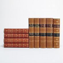 [FINE BINDINGS - AMERICANA] Group of sixteen volumes.