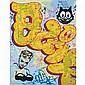 Quik (Lin Felton) American, b. 1958 Graffiti Never Dies!, 2012