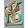 Jose de Creeft American, 1884-1982 Abstract Figures, 1941