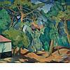 Andre Lhote French, 1885-1962 La Lande aux Environs de Bordeaux, circa 1918, Andre Lhote, $30,000