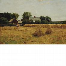 Robert Bruce Crane American, 1857-1937 The Harvest