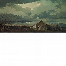 Eric Sloane American, 1905-1985 The Old Barns