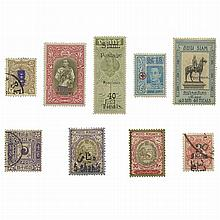 Asian Area Stamp Collections