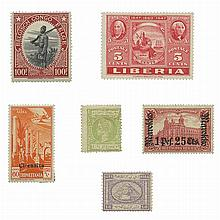 Foreign Stamp Collection Balance