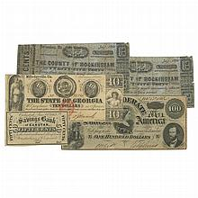 Confederate and Southern Obsolete Bank Note Group