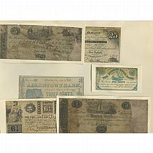 United States Obsolete Scrip Postal Currency and Confederate Note Lot