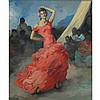 Francisco Rodriguez Sanchez Clement Spanish, 1893-1968 The Flamenco Dancer