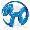 Jeff Koons BALLOON DOG (BLUE) Metallic porcelain multiple