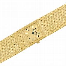 Gentleman's Gold Wristwatch, Tiffany & Co., Piaget