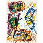 Sam Francis UNTITLED Color lithograph