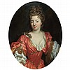 Attributed to Pierre Mignard Portrait of a Lady, said to be Comtesse de Valeroy, Pierre Mignard, $0