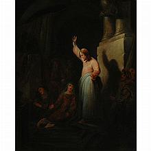 English School 19th Century The Raising of Lazarus