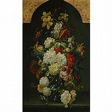 French School 18th/19th Century Still Life of Flowers