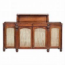 George IV Rosewood Side Cabinet