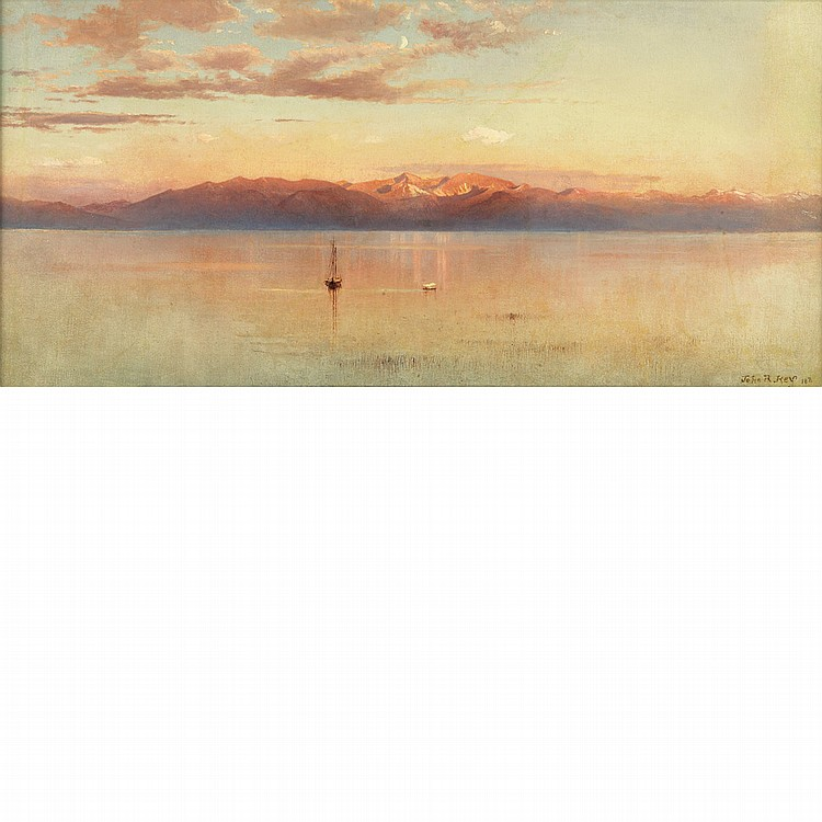 John Ross Key American, 1837-1920 Lake Tahoe Vistas: Two