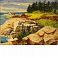 Henry Gasser American, 1909-1981 (i) Man at the Quarry, (ii) Maine Shoreline, (iii) New Orleans