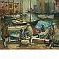 Arthur Clifton Goodwin American, 1864-1929 Old Days, T Wharf, Boston