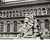 ABBOTT, BERENICE (1898-1991) Customs House Statues...Produce Exchange Building, 2 Broadway, Manhattan, 1936.