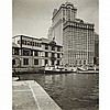 ABBOTT, BERENICE (1898-1991) Battery, Foot of West Street, New York City, 1936.