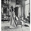 BEATON, CECIL (1904-1980) Two images for Harper's Bazar, vintage silver gelatin prints mounted to card, 1950's-1960s, 11 3/8...