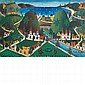 Prefete Duffaut Haitian, b. 1923 Jacmel   Signed Prefete Duffaut and inscribed as titled (lr) Acrylic on m...