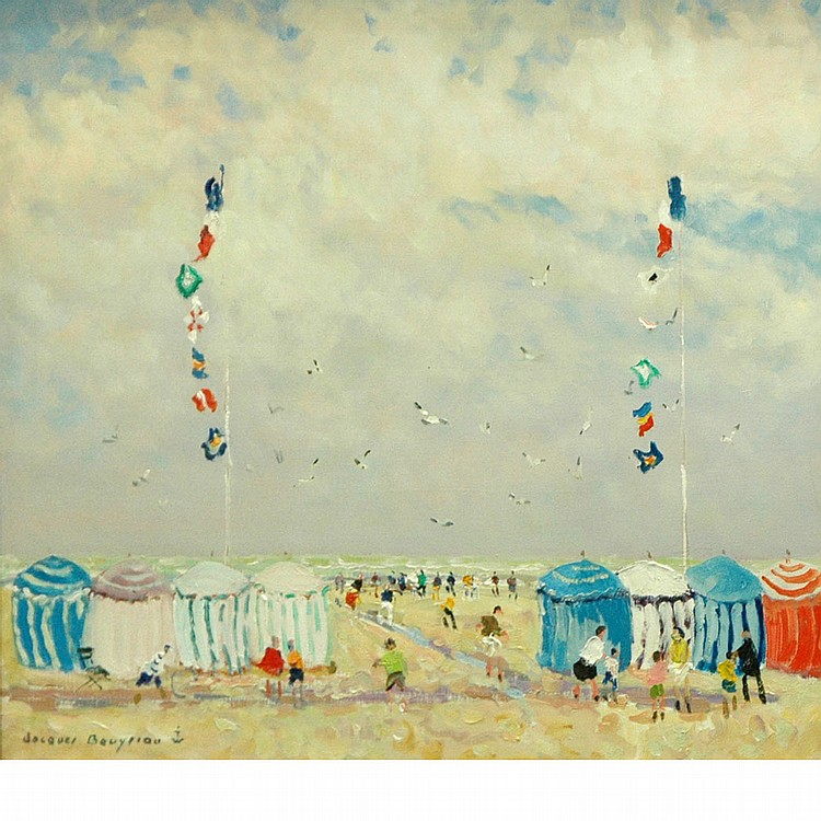 Jacques Bouyssou French, 1926-1997 Trouville