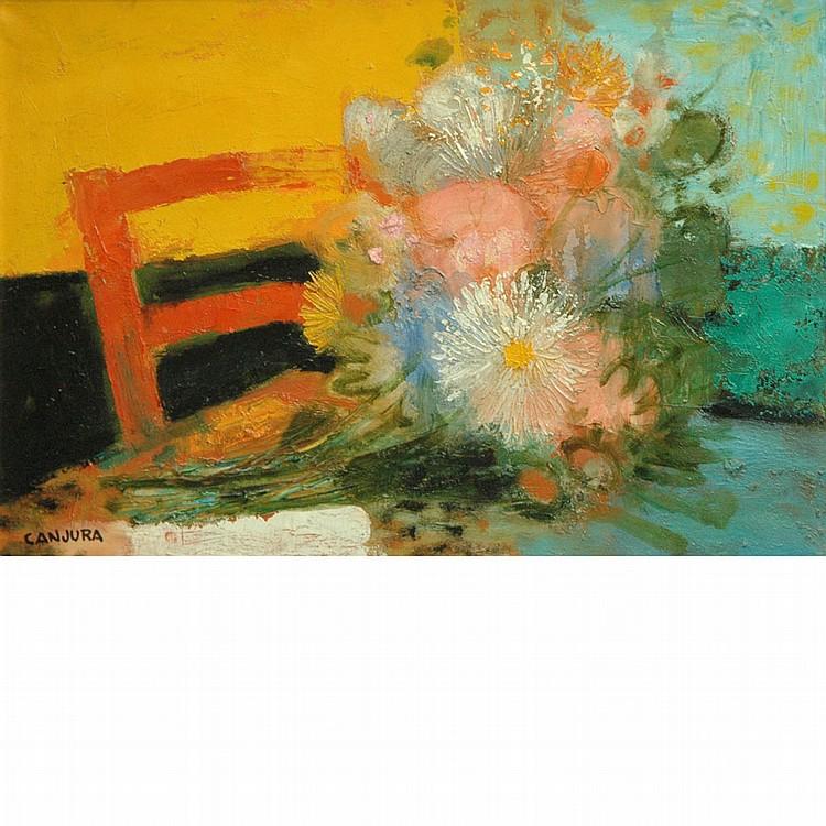 Noe Canjura French, 1925-1973 Fleurs des Champs