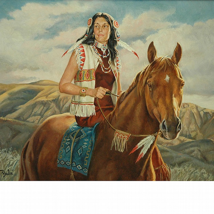 Al Brule American, 20th Century Crazy Horse's Woman