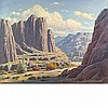 Paul A. Grimm American, 1891-1974 Nature's Pasture (Box Canyon)