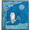 Francoise Gilot French, b. 1921 Chouette au Clair de Lune (Owl in the Moonlight), 1964