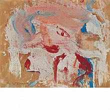 Willem de Kooning Dutch/American, 1904-1997 Woman, 1965