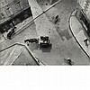 KERTESZ, ANDRE (1894-1985) Carrefour Blois, 1930. Gelatin silver print, printed later, 7 1/8 x 9 3/4 inches (181 x 246 mm) s...