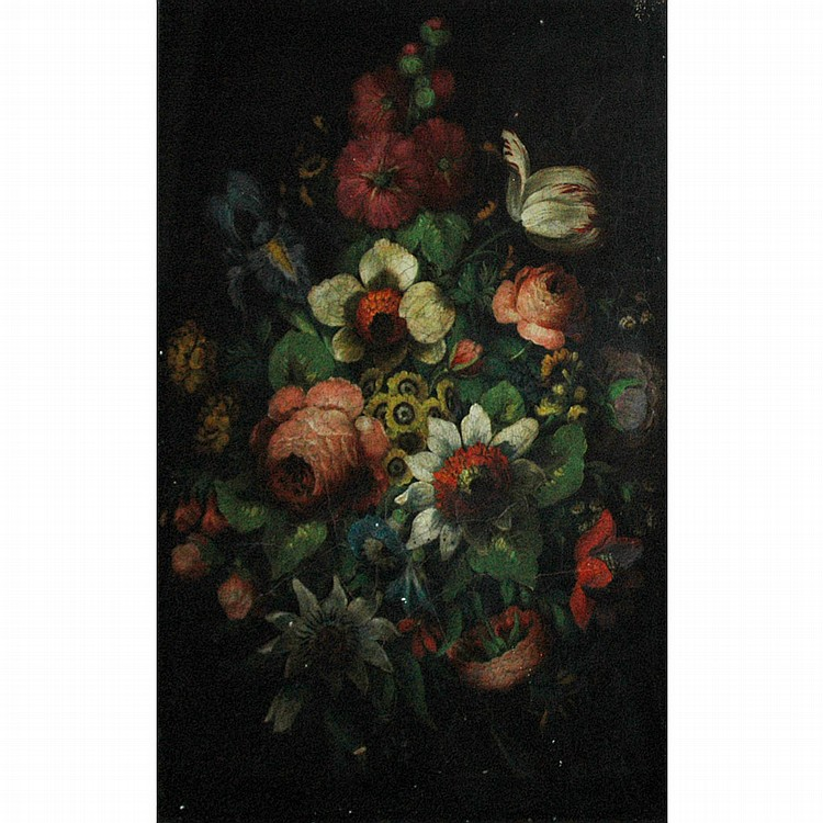 French School 19th Century Floral Still Life