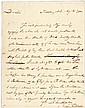 JOHN FRANCIS MERCER 1792 Autograph Letter Signed as US Congress Representative