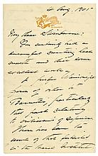 Autograph Letter by GEORGE DEWEY, Admiral of the Navy, American Civil War