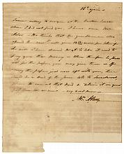 Feb. 16, 1809 Dated Autograph Letter Signed by AARON BURR